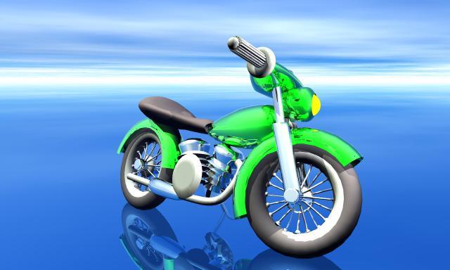 A motorbyke model / RHino 3D
